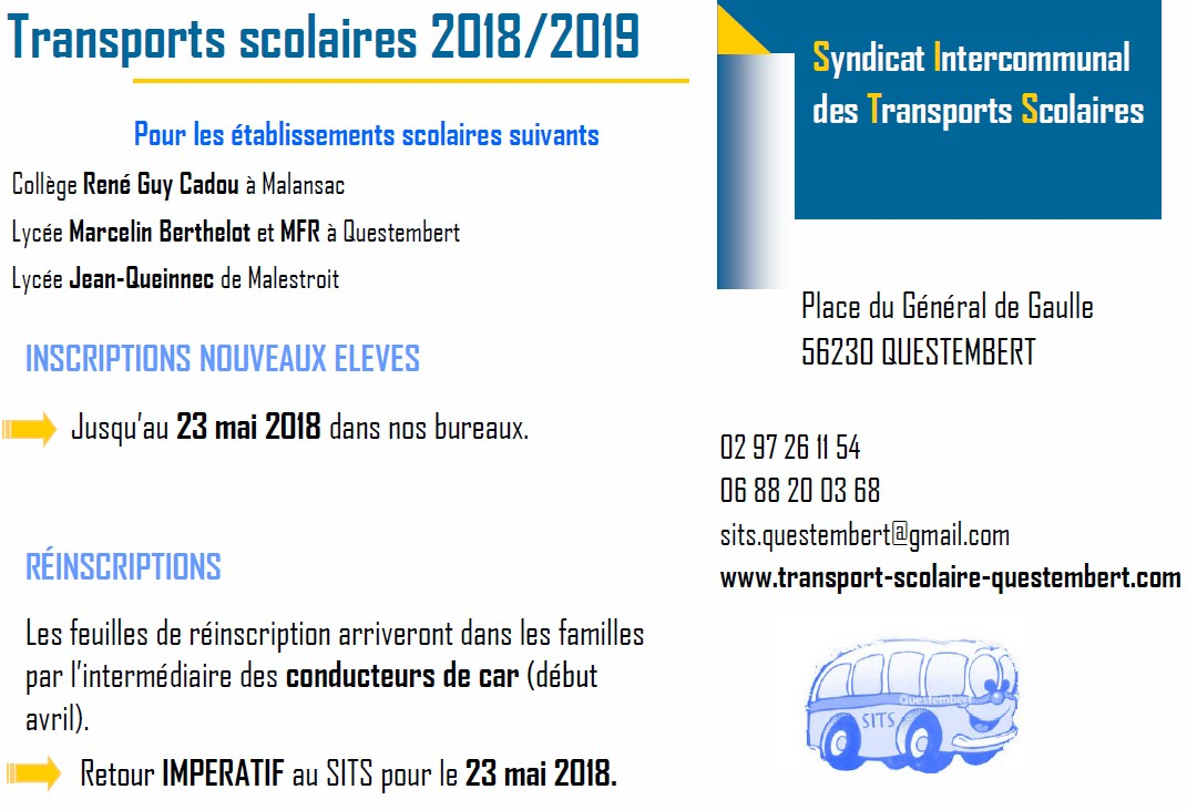 transports scolaires2018 2019